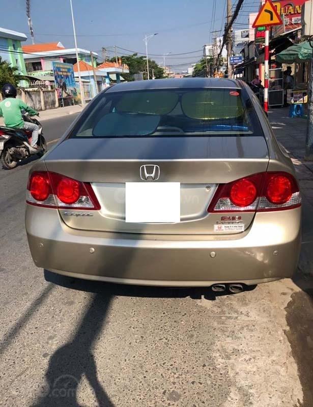 Cần bán Honda Civic 2.0AT đời 2008, màu vàng chính chủ, giá tốt (2)