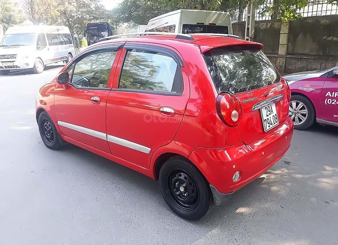 Cần bán xe Chevrolet Spark LT 0.8 AT năm 2009, màu đỏ   (2)