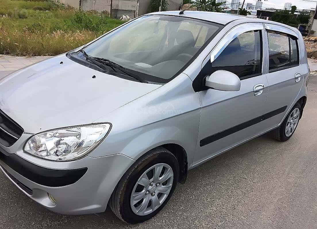 Cần bán Hyundai Getz năm 2009, màu bạc, xe nhập, giá chỉ 190 triệu (1)