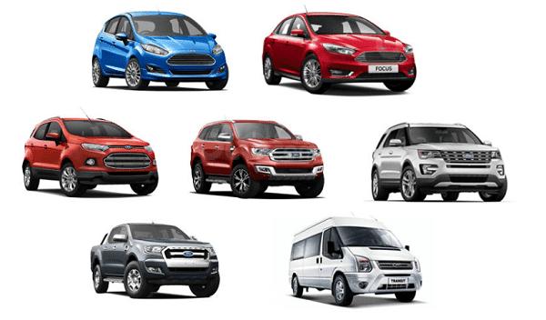 Cập nhật lãi suất vay mua xe Ford - Ưu đãi tết 2020 1a