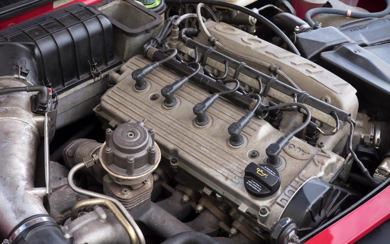 Turbo bốn xi lanh.