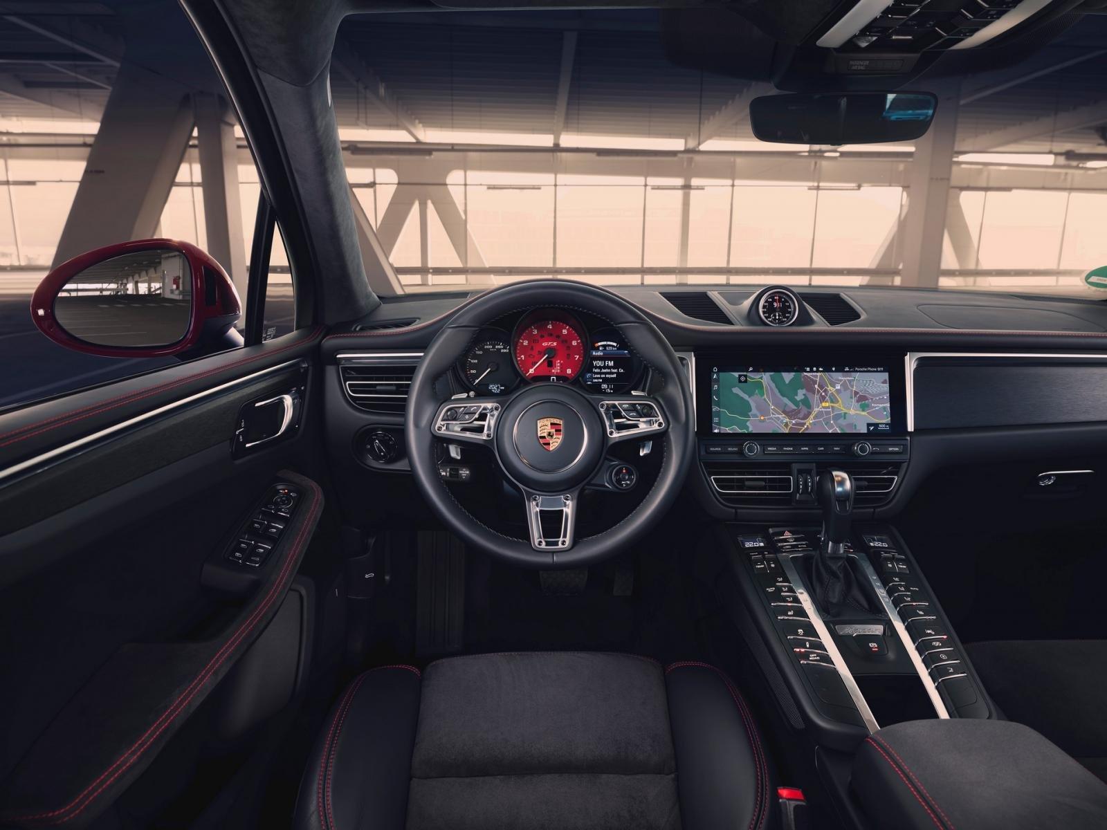 Porsche Macan GTS 2020: cabin xe