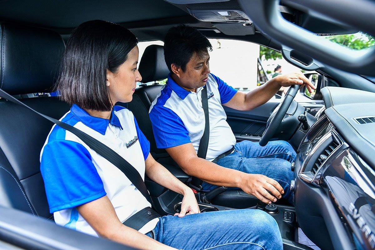 Các hoạt động lái xe an toàn được Ford tổ chức.
