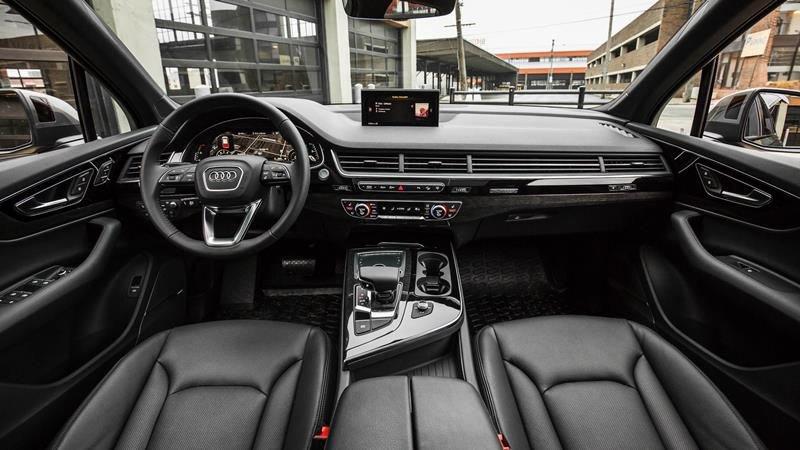 Nội thất xe Audi Q7