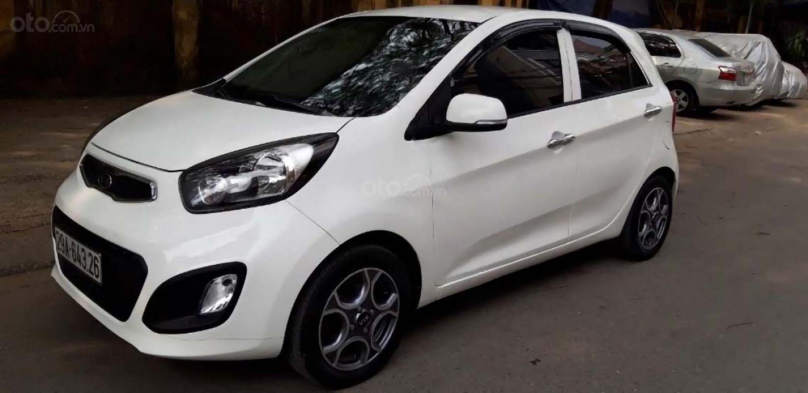 Cần bán lại xe Kia Morning EX MTH sản xuất năm 2013, màu trắng chính chủ, giá tốt (1)
