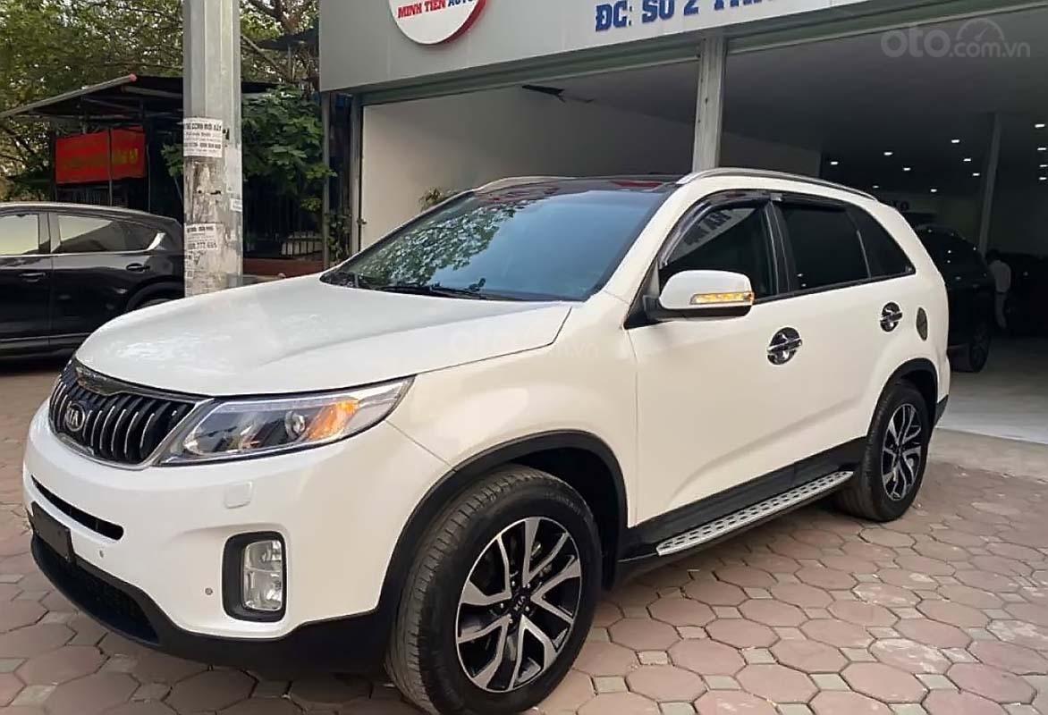 Bán Kia Sorento 2.2 DAT Premium 2019, màu trắng, 945tr (1)