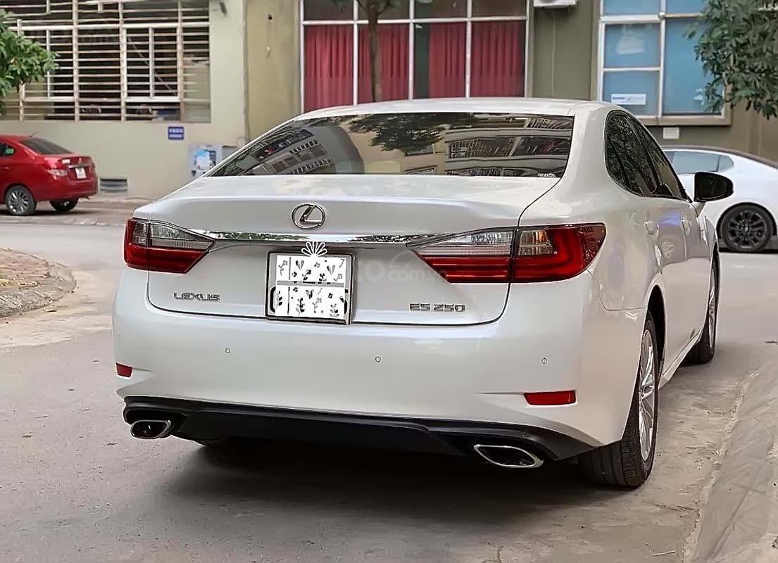 Cần bán lại xe Lexus ES 250 sản xuất 2017, màu trắng, nhập khẩu (2)