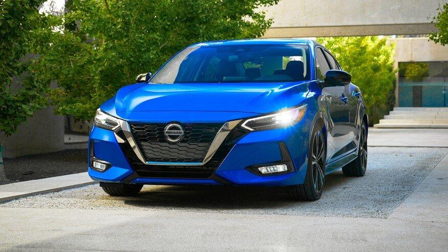 Đánh giá xe Nissan Sentra 2020: đầu xe