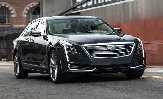 Top 10 mẫu sedan thoải mái nhất năm 2019 - Cadillac CT6