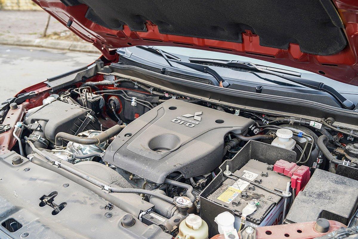 Đánh giá xe Mitsubishi Triton 2020: Động cơ Diesel MIVEC đã được cập nhật cho 4/5 phiên bản.