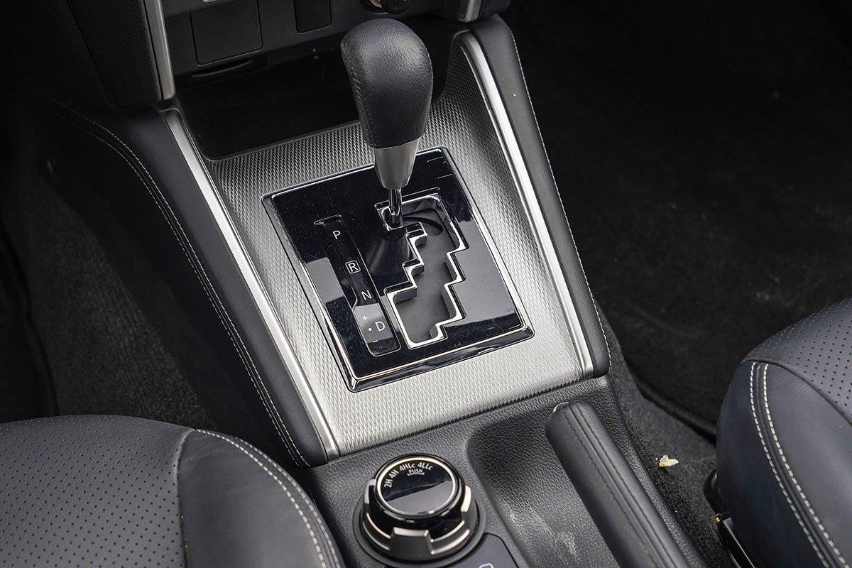 Đánh giá xe Mitsubishi Triton 2020: Hộp số 6 cấp là sự lựa chọn tối ưu.