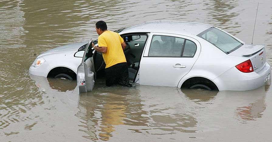 Nguy cơ hư hỏng nặng khi ngập nước.