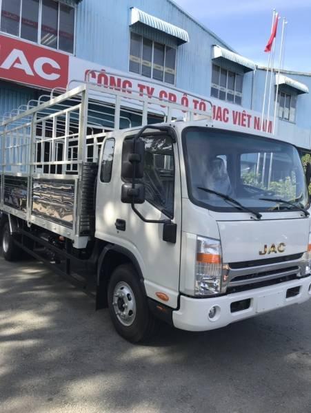 Bán chiếc xe tải JAC HFC N650 Plus 6,5 tấn thùng dài 6m2 2020 tặng tiền mặt lên đến 10tr, giao nhanh (3)