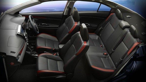 Toyota Vios 2018 nội thất