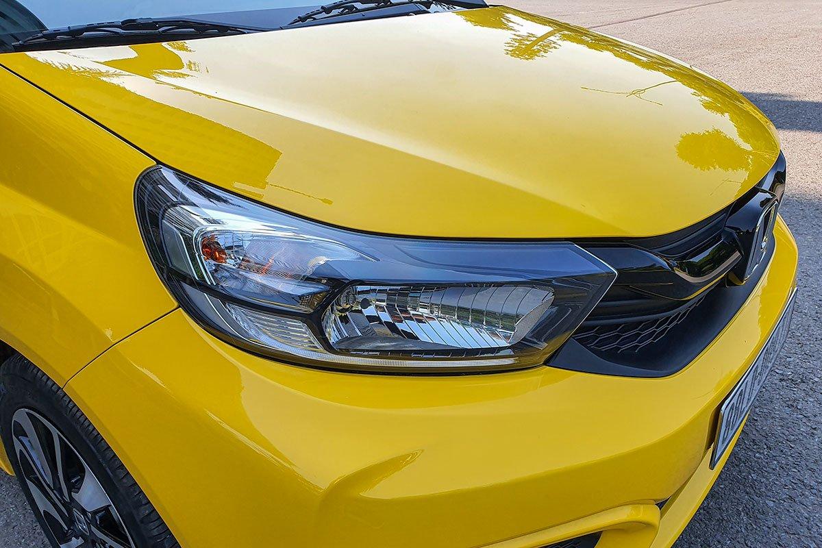 So sánh xe Honda Brio 2019 và Kia Soluto 2019 về thiết kế đầu xe - Ảnh 6.