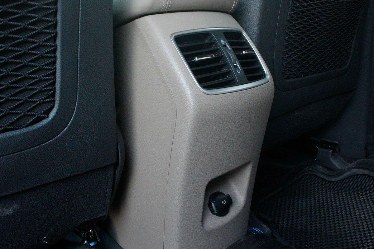 Ảnh chụp cửa gió xe Hyundai Tucson 2020
