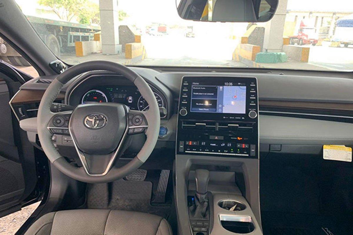Video khui công Toyota Avalon Hybrid 2020 đầu tiên ở Việt Nam a5