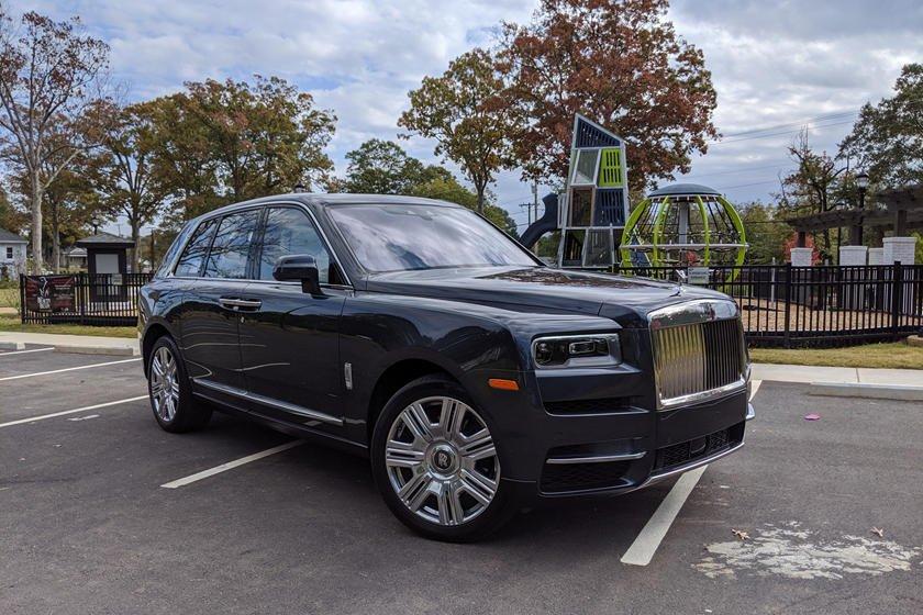 Rolls-Royce Cullinan 2019.