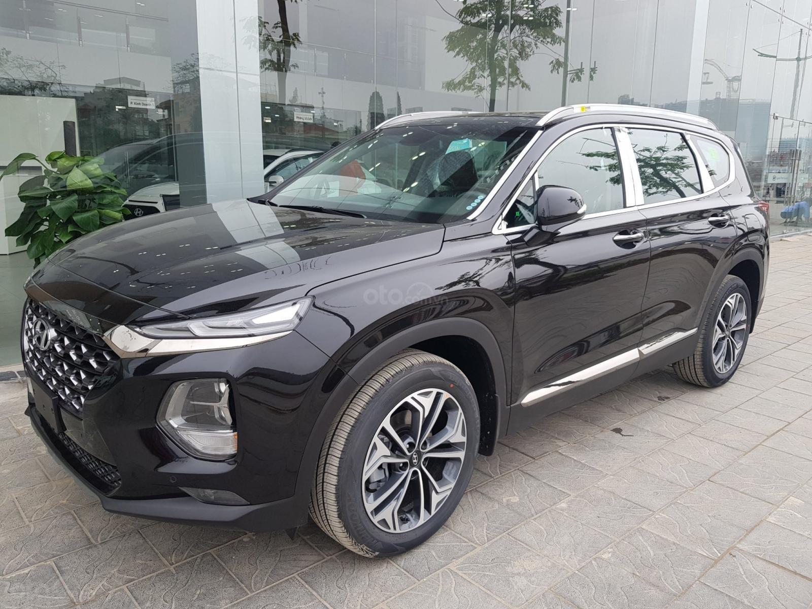 Hyundai Santa Fe 2019 giá tốt nhất đủ màu máy xăng và dầu giao ngay, trả góp 85%, LH 0911406262 (2)