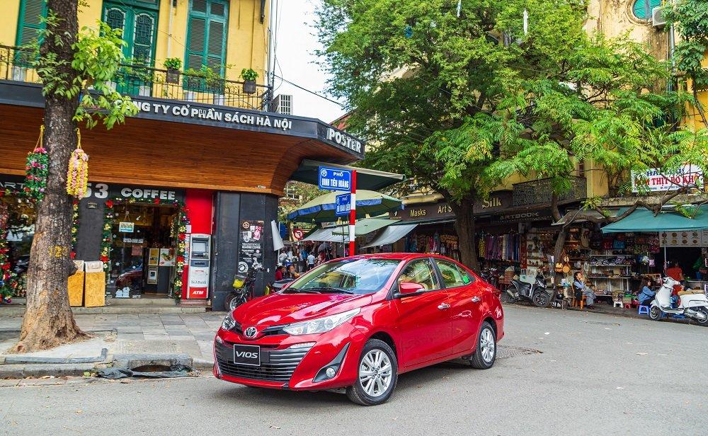 Giá bán của Toyota Vios 2020 vẫn giữ nguyên so với giá cũ 1