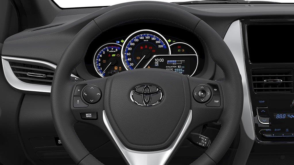 Toyota Vios 2020 bổ sung Kiểm soát hành trình Cruise Control 1