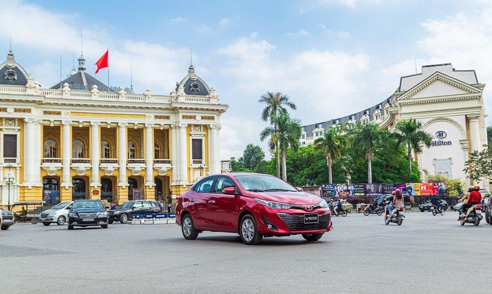 Toyota Vios 2020 được bổ sung thêm hai phiên bản 3 túi khí với giá bán giảm 20 triệu đồng 1