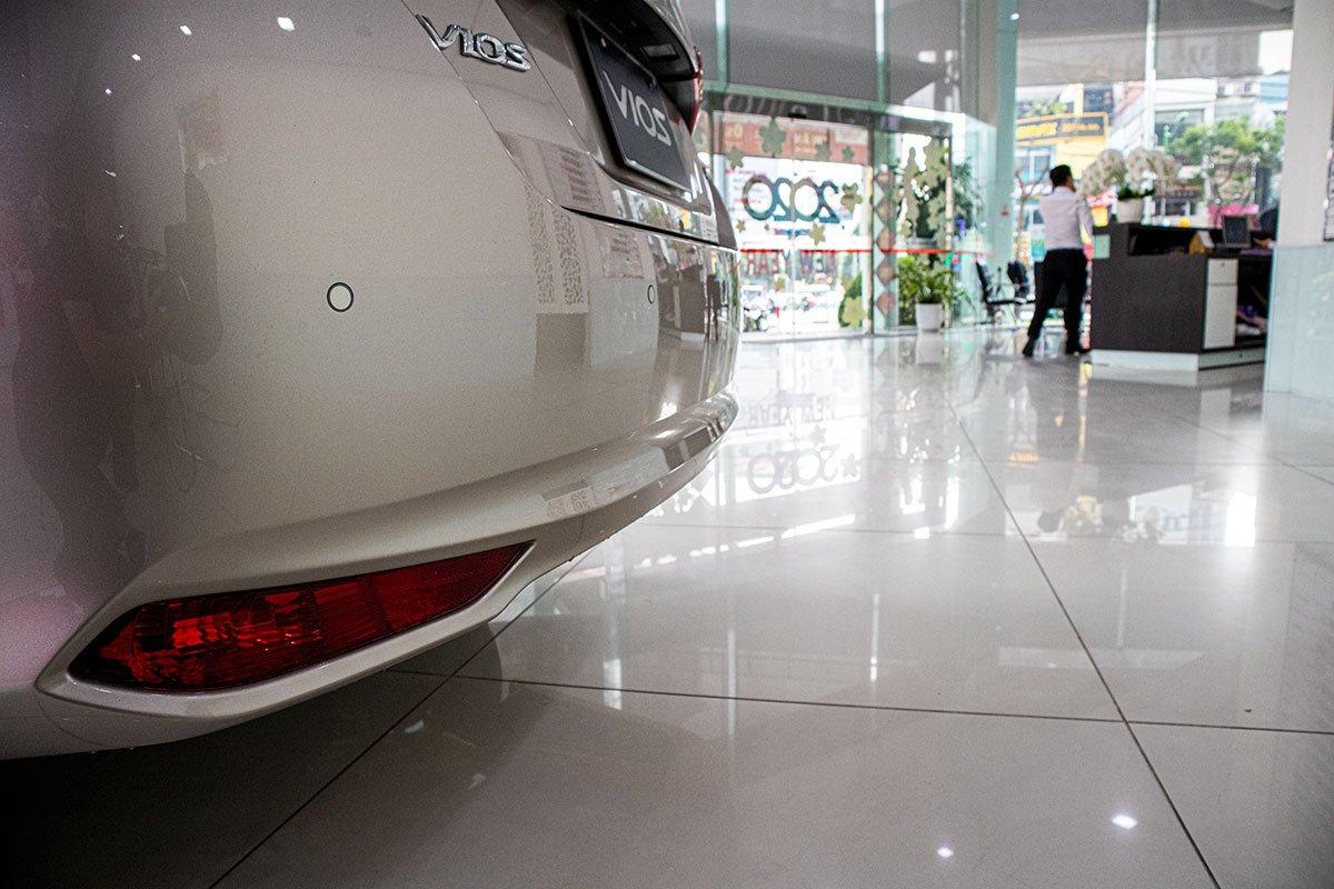 Soi chi tiết xe Toyota Vios 2020 tại đại lý, bản nâng cấp vừa ra mắt Việt Nam a12