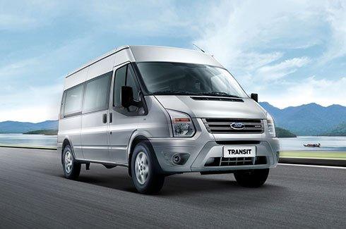 Đánh giá xe Ford Transit về thiết kế ngoại thất