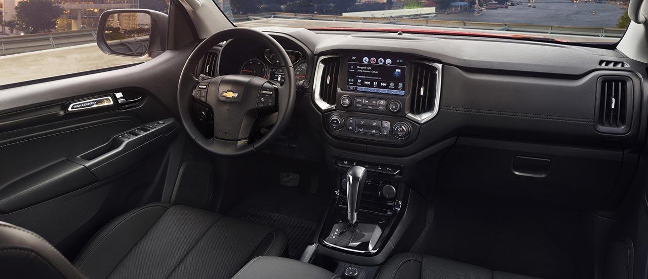 Khoang nội thất của Chevrolet Colorado