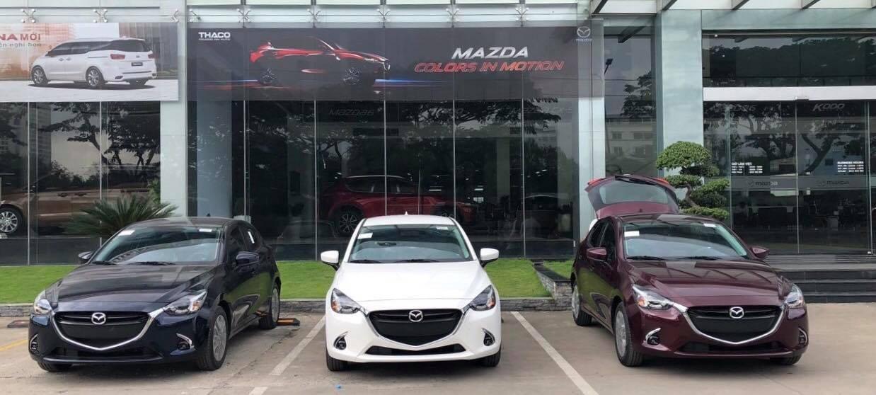 Mazda 2 phiên bản mới nhất được nhập khẩu từ Thái Lan