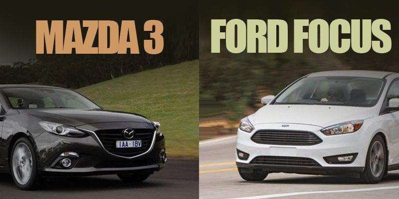 So sánh Ford Focus với Mazda 3