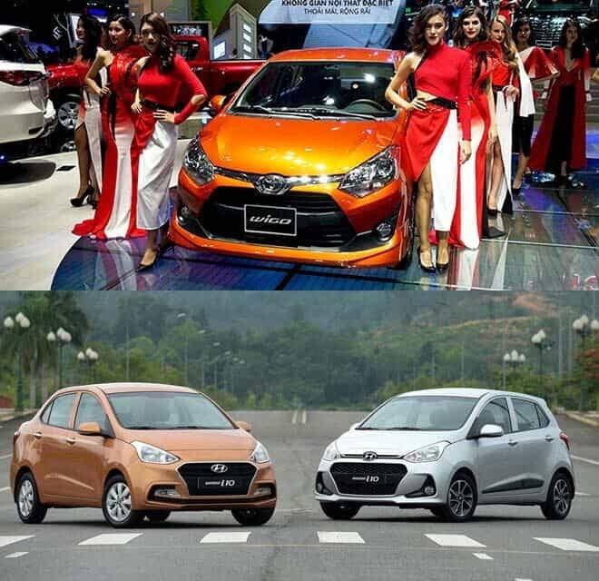 So sánh Toyota Wigo với Hyundai Grand i10