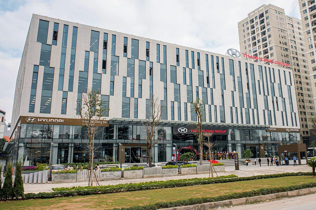 Trung tâm trải nghiệm Hyundai có quy mô lớn nhất và đầu tiên tại Việt Nam.
