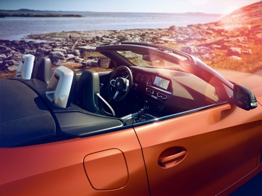 Nội thất xe BMW Z4
