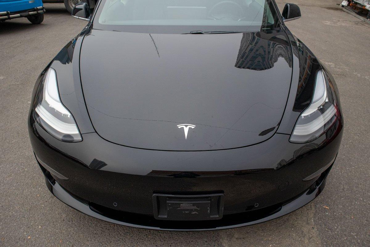 Ngắm xe hơi thuần điện Tesla Model 3 tại Việt Nam, nhiều chi tiết thú vị a3