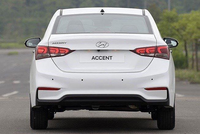 Thiết kế đuôi xe Hyundai Accent 2020 1