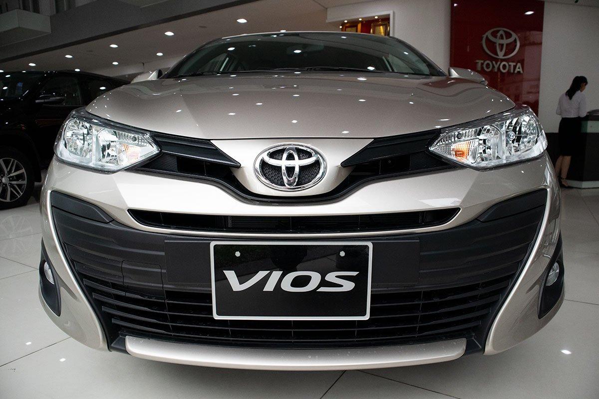 Thiết kế đầu xe Toyota Vios 2020 1