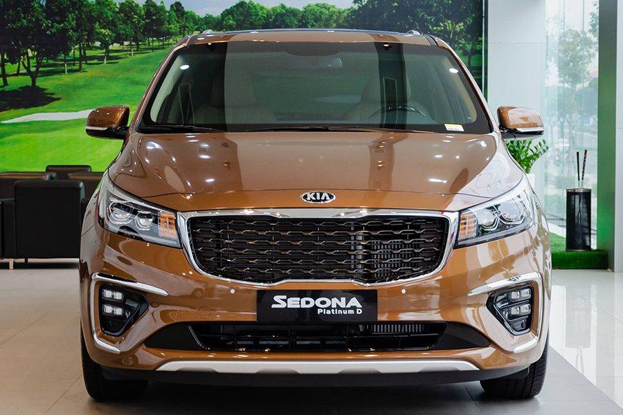 Đánh giá xe Kia Sedona về thiết kế ngoại thất