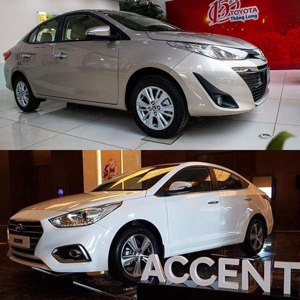 Toyota Vios giữ giá tốt, bền bỉ còn HyundaiAccent 2020 thiết kế đẹp, nhiều option 1