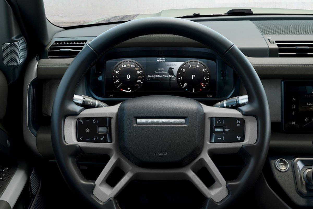 bảng đồng hồ kỹ thuật số 12,3 inch cho phép hiển thị nhiều thông tin.