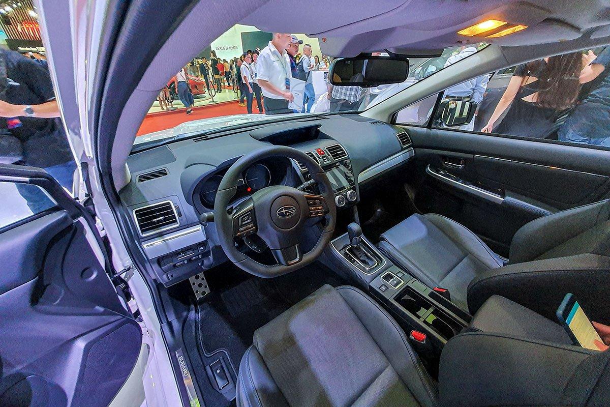 Ảnh chụp nội thất xe Subaru Levorg 2020