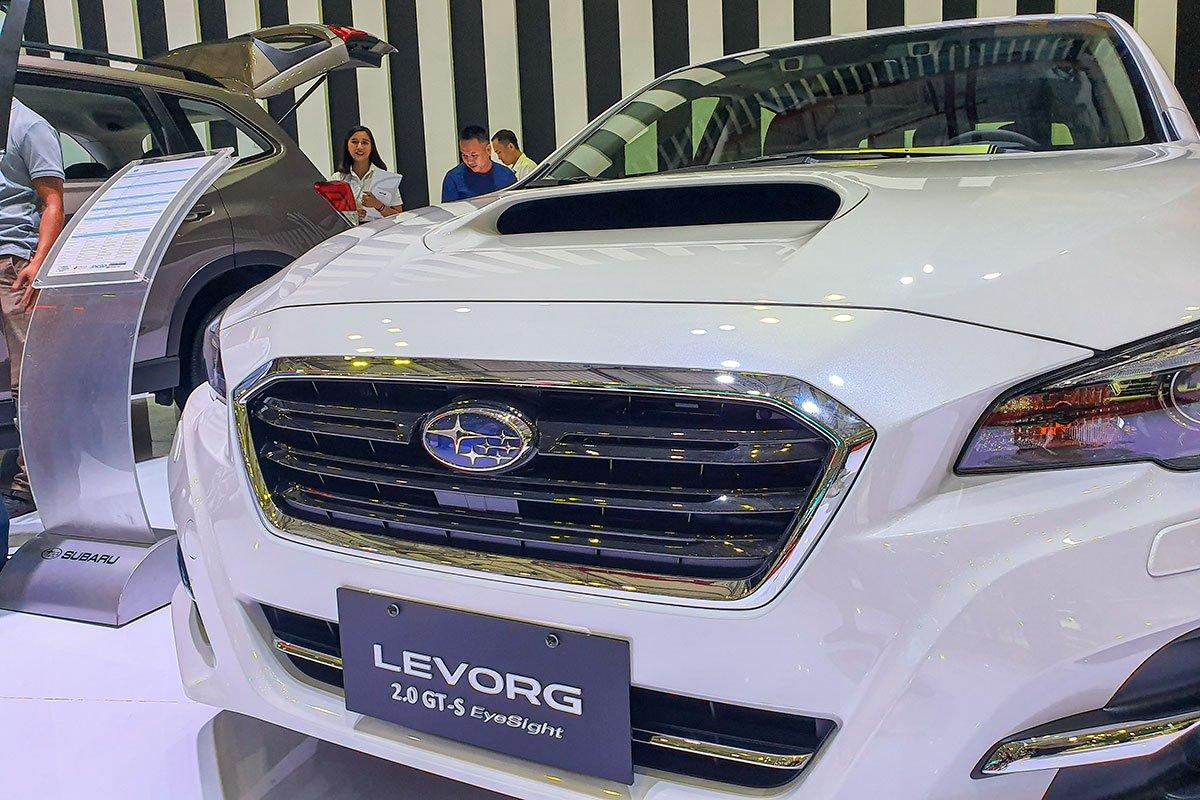Ảnh chụp lưới tản nhiệt xe Subaru Levorg 2020