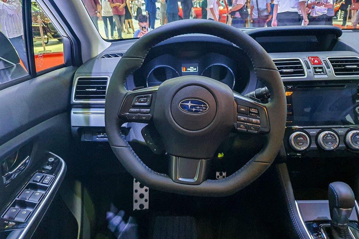 Ảnh chụp vô-lăng xe Subaru Levorg 2020