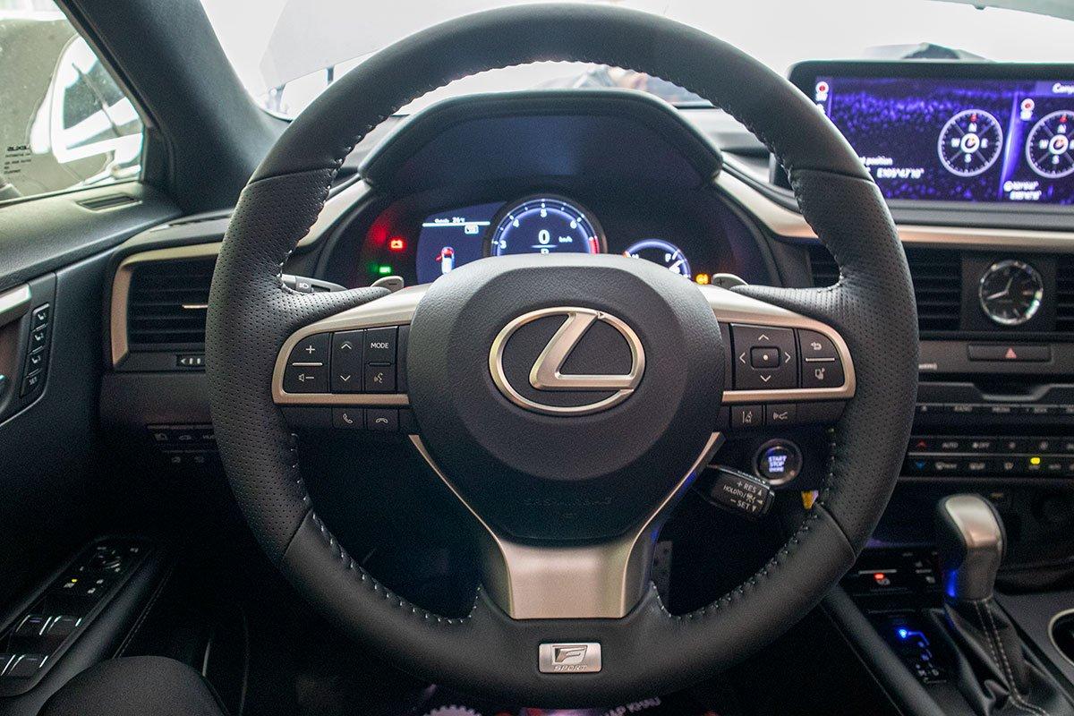 Lexus RX350 F-Sport 2020 đắt hơn hàng chính hãng gần 1 tỷ đồng có gì? a14