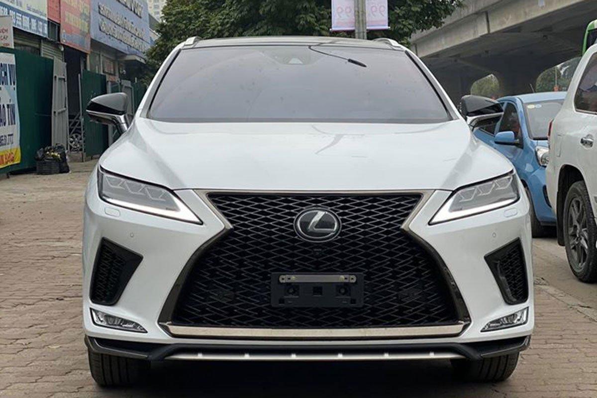 Lexus RX350 F-Sport 2020 đắt hơn hàng chính hãng gần 1 tỷ đồng có gì? a1