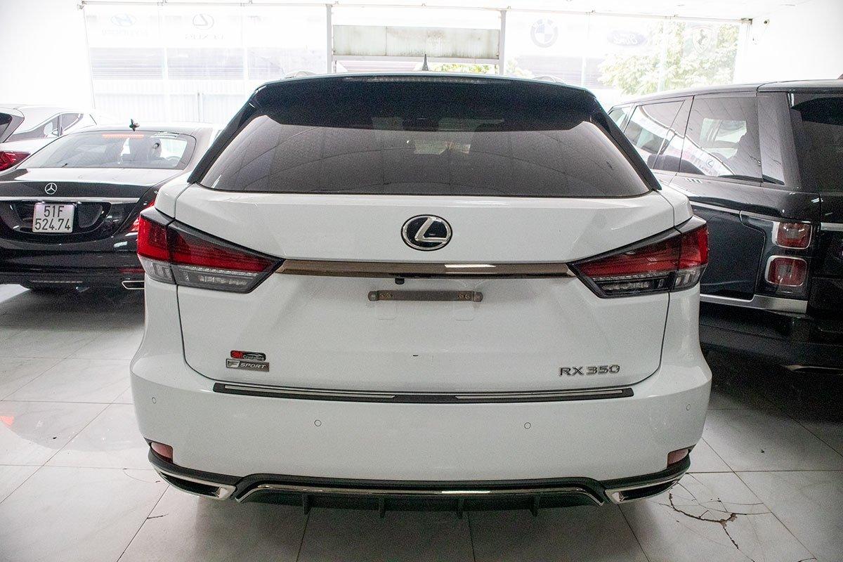 Lexus RX350 F-Sport 2020 đắt hơn hàng chính hãng gần 1 tỷ đồng có gì? a6