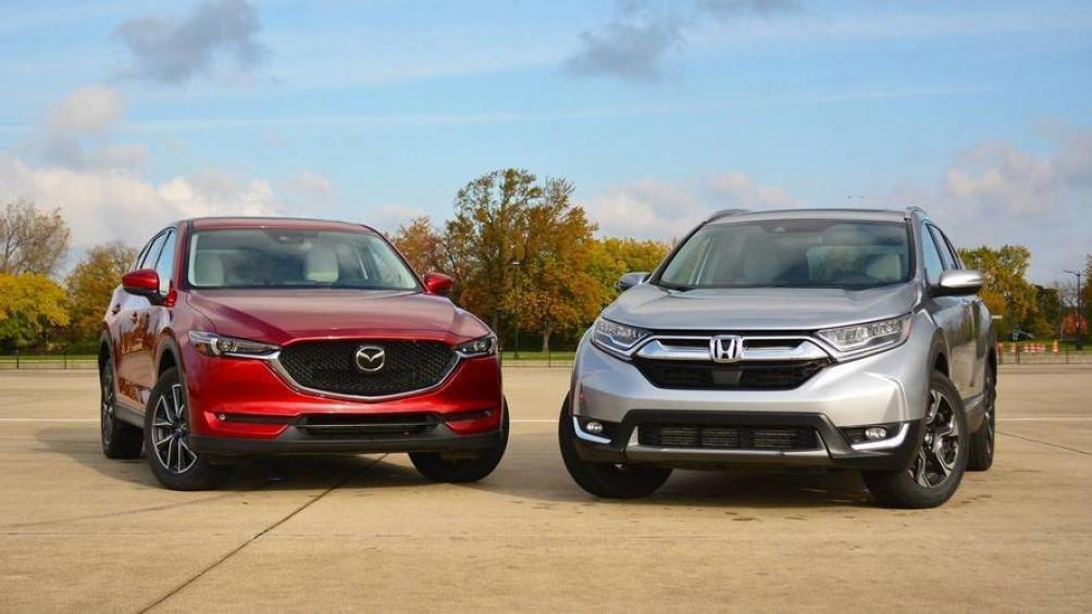 So sánh xe Mazda Cx-5 và Honda CR-V
