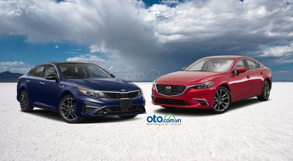 So sánh xe Mazda 6 và Kia Optima