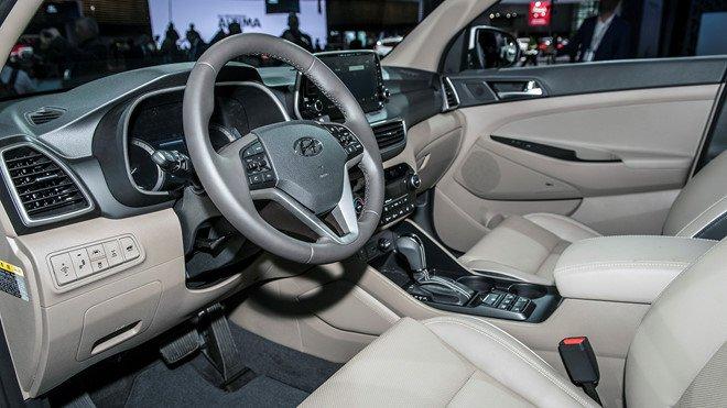 Nội thất của Hyundai Tucson được trang bị rất nhiều công nghệ hiện đại