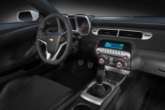 Nội thất xe Chevrolet Camaro